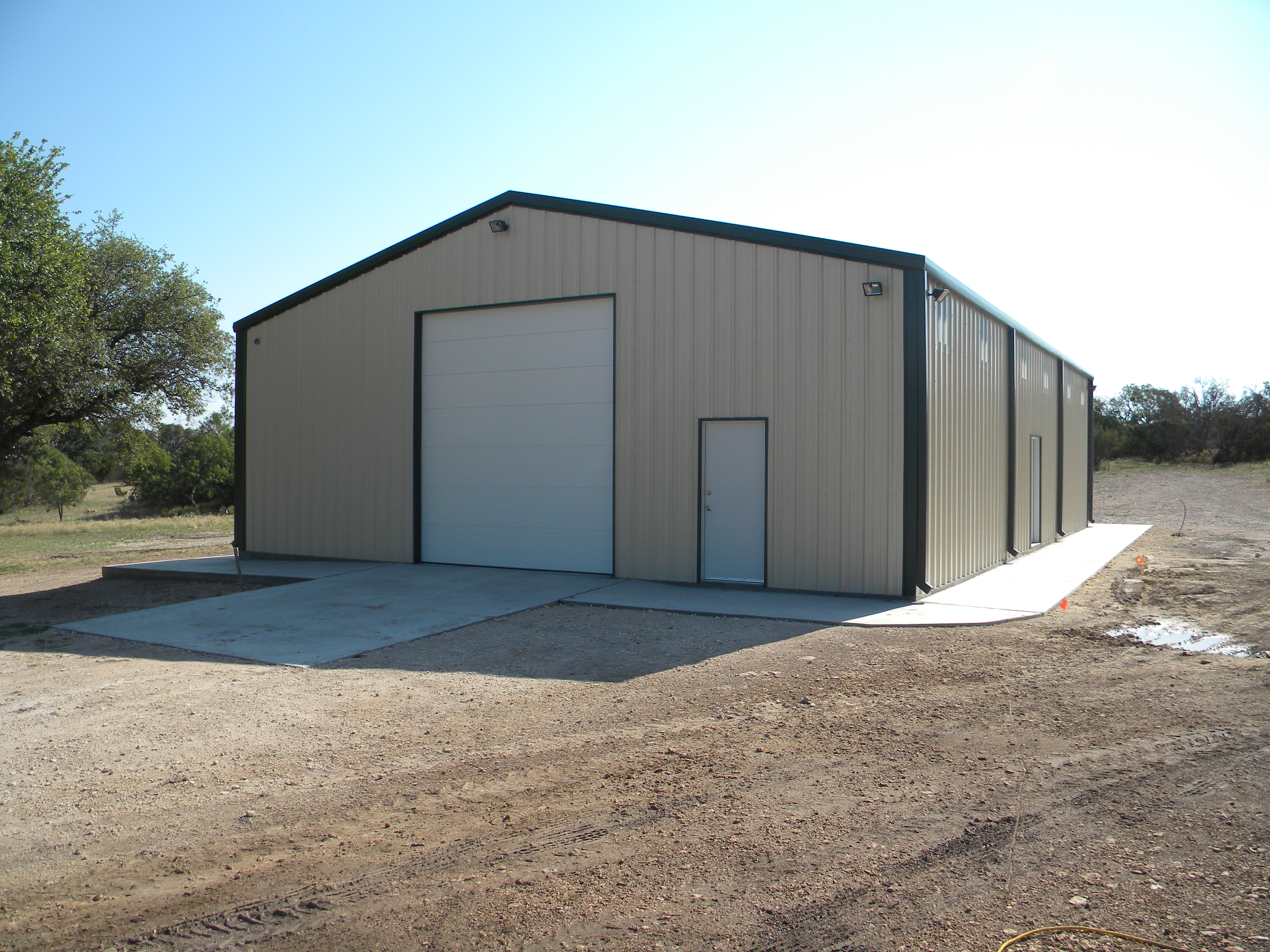 Steel Building Construction : Metal buildings symco structural serving san angelo